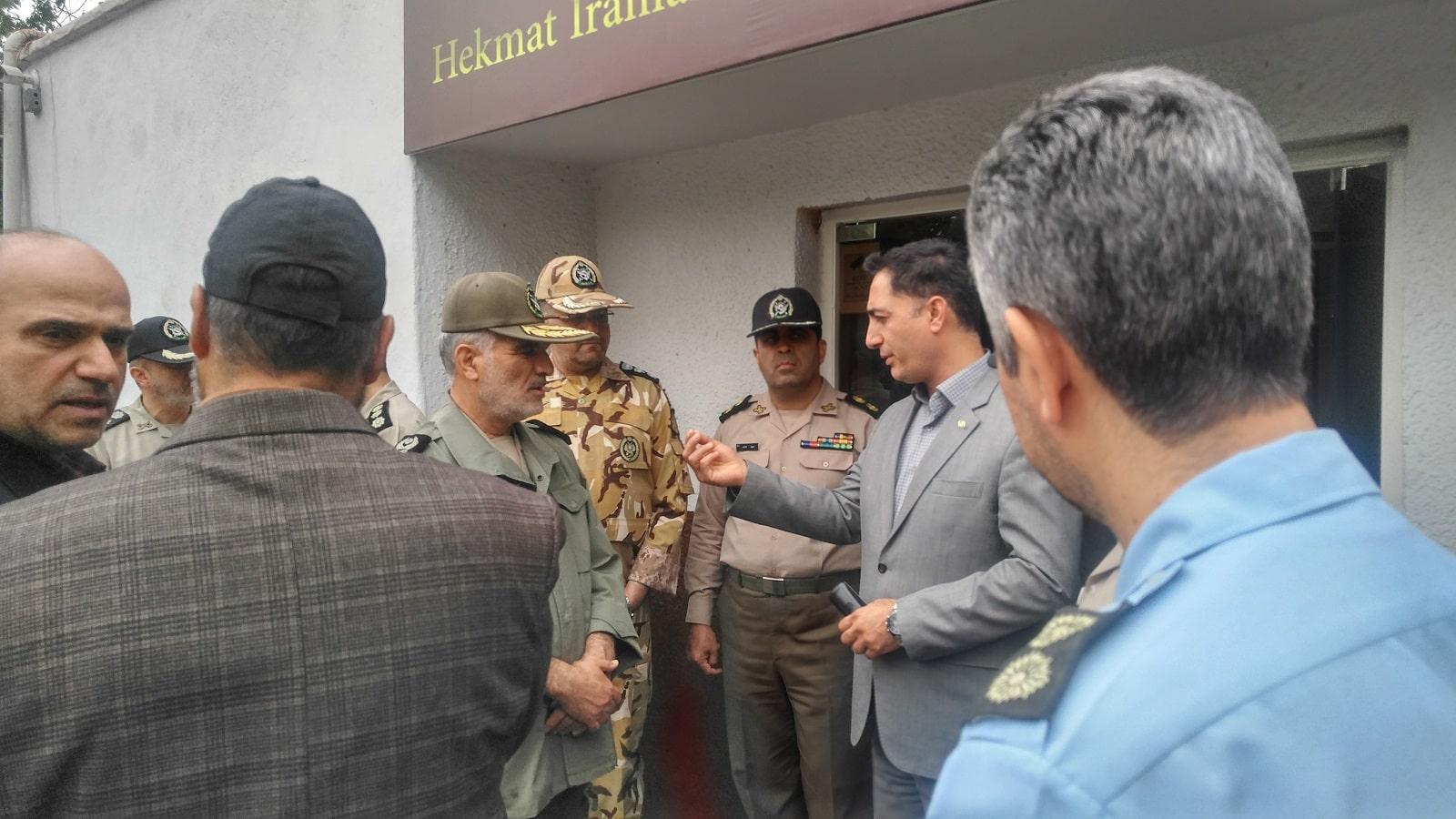 بازدید امیر سرتیپ محمودی معاون اجرایی ارتش